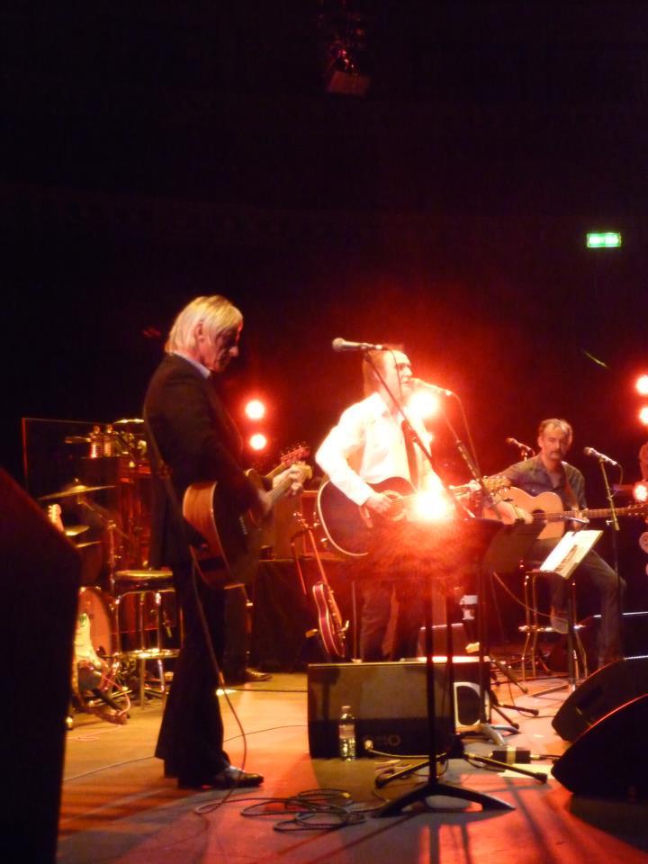 Paul Weller and Davies